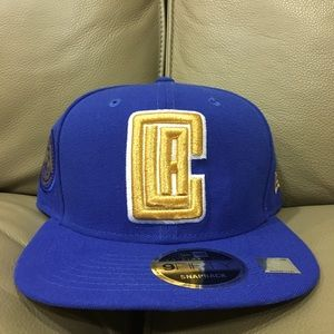 Other - L.A Clippers Blue and Gold Snapback